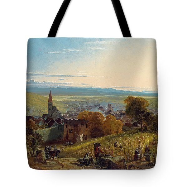 The Travellers Tote Bag by Christian Ernst Bernhard Morgenstern