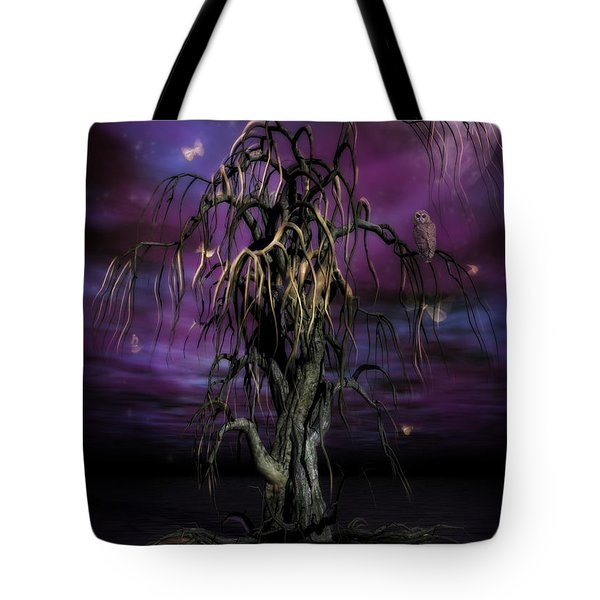 The Tree Of Sawols Tote Bag by John Edwards