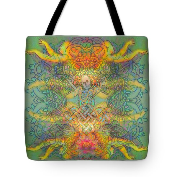 The Tree Of The Knowledge Of Good And Evil Tote Bag by Hidden  Mountain