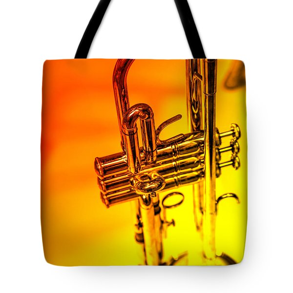 The Trumpet Tote Bag by Karol  Livote