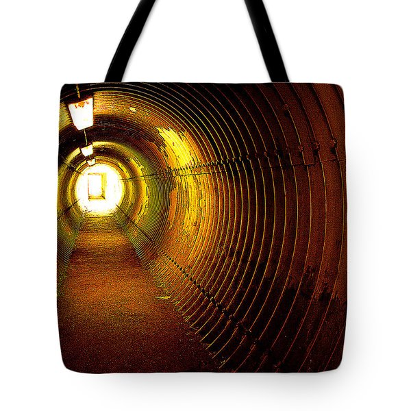The Tunnel Tote Bag by Theresa Tahara
