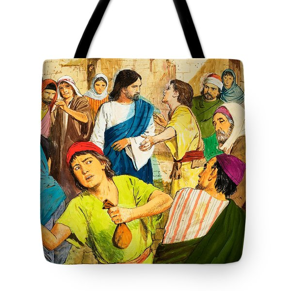 The Two Brothers Tote Bag by Clive Uptton