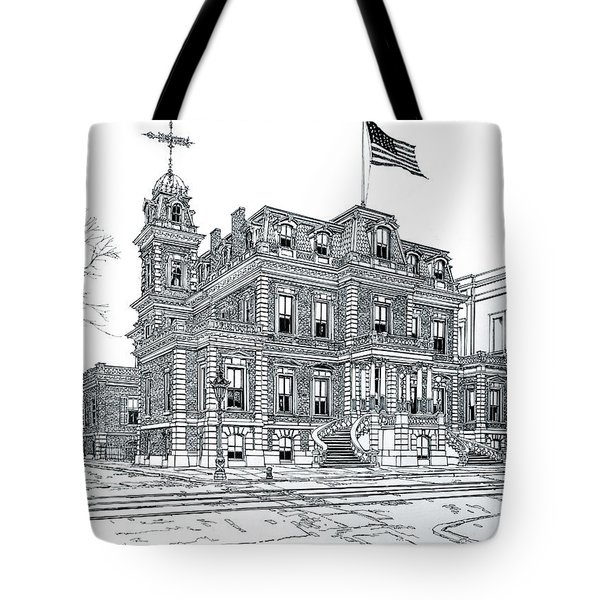 The Union League Philadelphia 1867 Tote Bag by Ira Shander