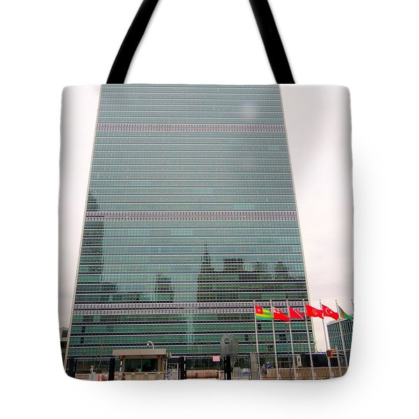 The United Nations Tote Bag by Ed Weidman