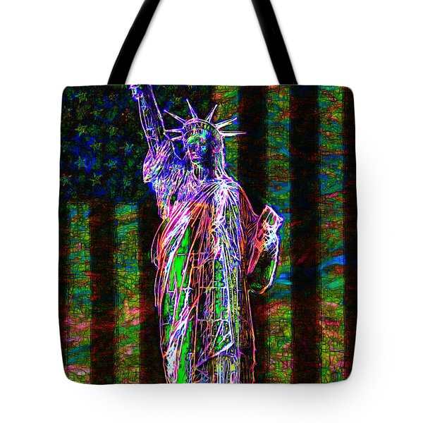 The United States of America 20130115 Tote Bag by Wingsdomain Art and Photography