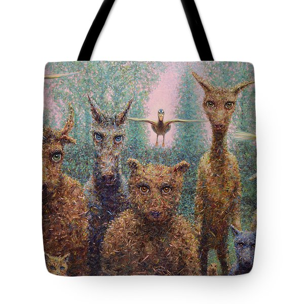 The Untamed Tote Bag by James W Johnson