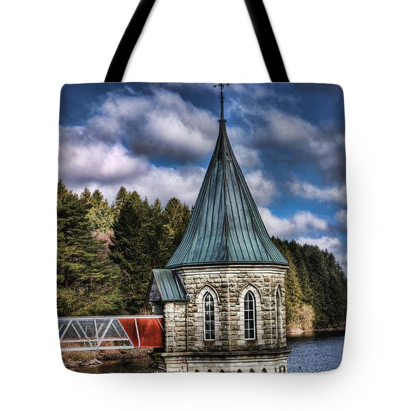 The Valve Tower Tote Bag by Steve Purnell