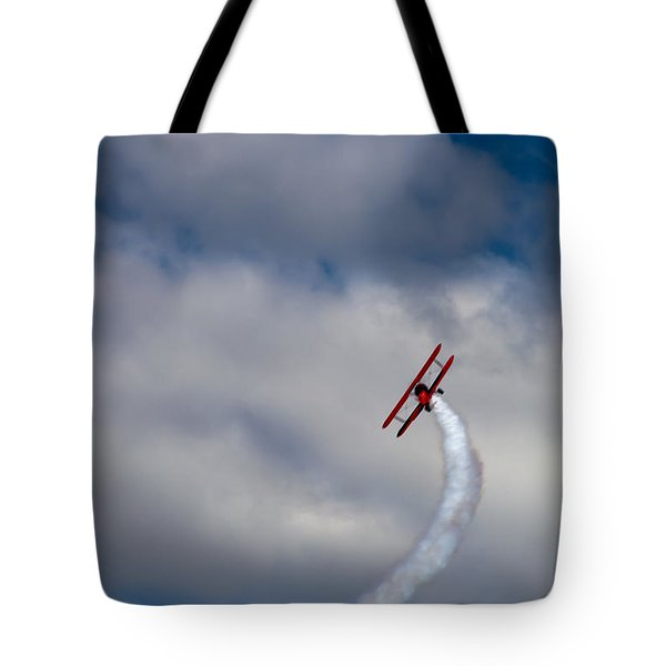 The Vapor Trail Tote Bag by David Patterson