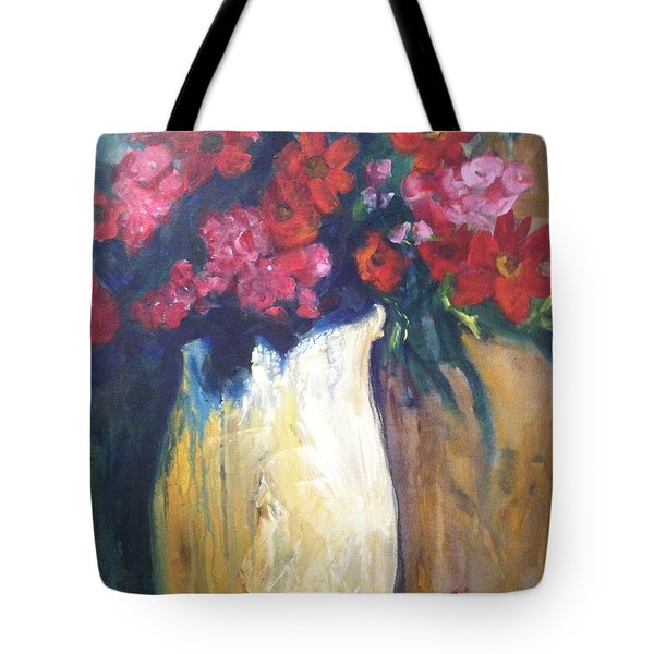 The Vase Tote Bag by Sherry Harradence