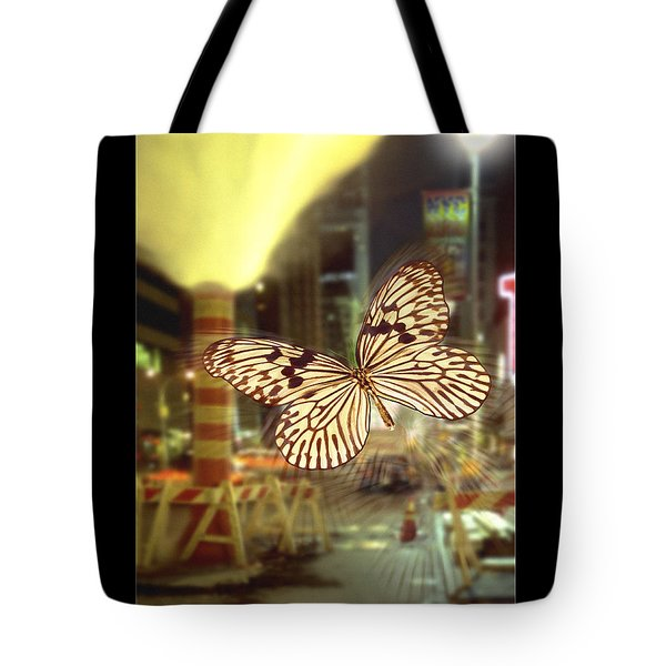 The Visitor Tote Bag by Mike McGlothlen