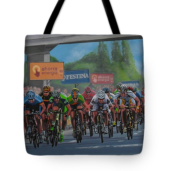 The Vuelta Tote Bag by Paul Meijering
