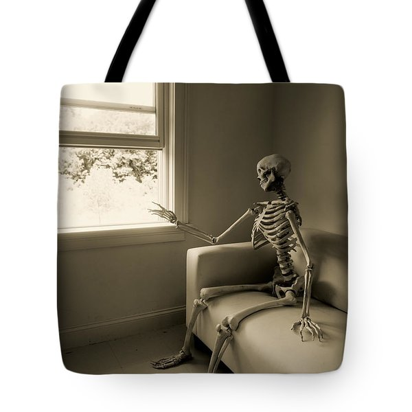 the wait Tote Bag by Diane Diederich