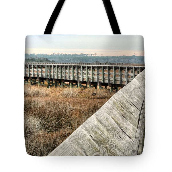 The Walkway Tote Bag by JC Findley