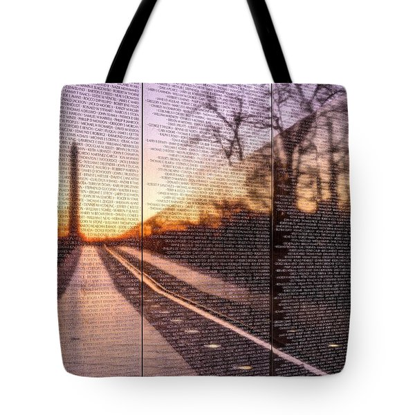 The Wall Tote Bag by JC Findley