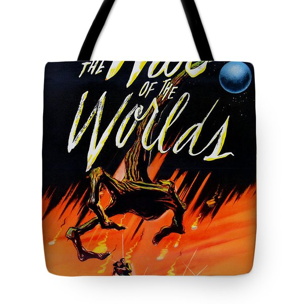 The War Of The Worlds Tote Bag by Nomad Art And  Design