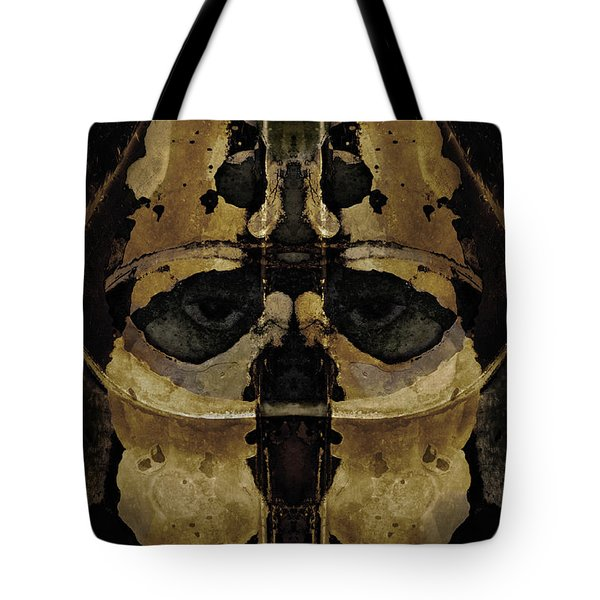 The Warrior Tote Bag by David Gordon