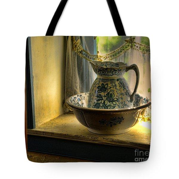 The Wash Basin Tote Bag by Paul Ward