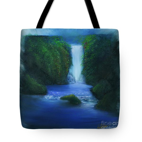 The Waterfall Tote Bag by David Kacey