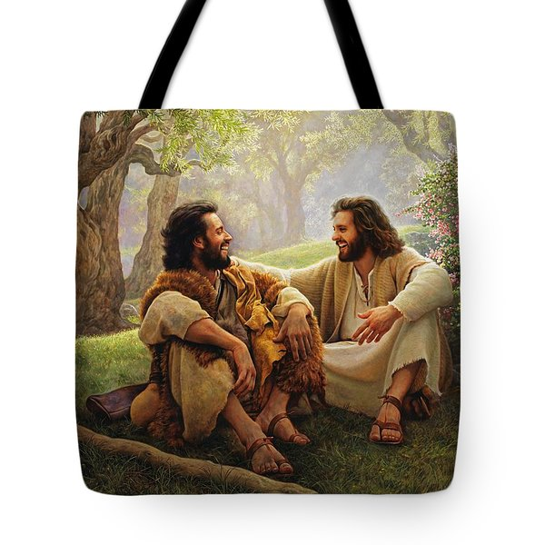 The Way of Joy Tote Bag by Greg Olsen