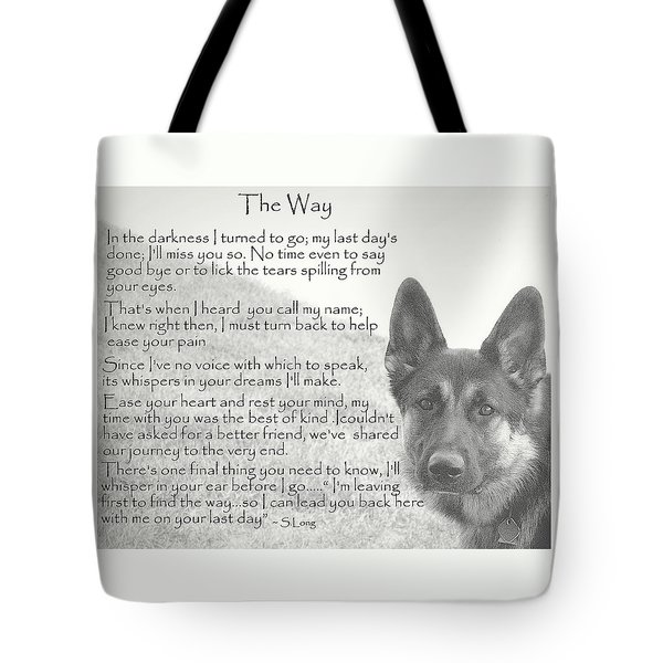 The Way Tote Bag by Sue Long