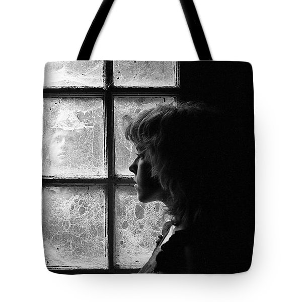 The Web Of Past Love 1980 Tote Bag by Ed Weidman