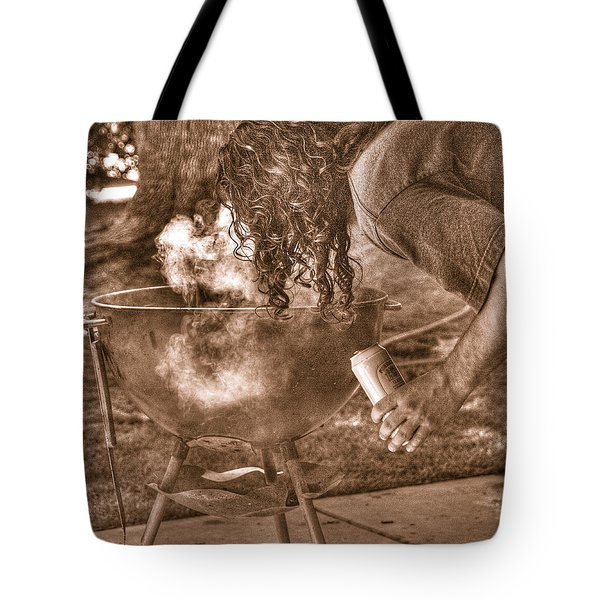 The Weber Whisperer Tote Bag by Joe Schofield