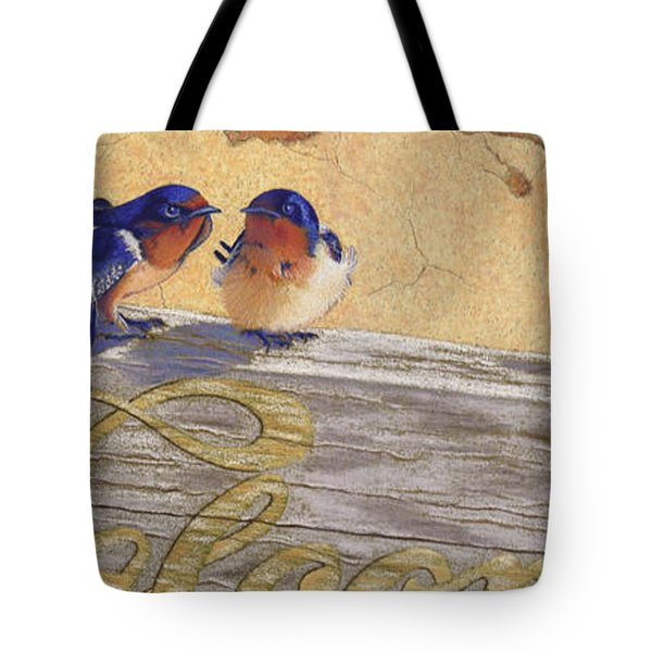 The Welcome Committee Tote Bag by Tracy L Teeter