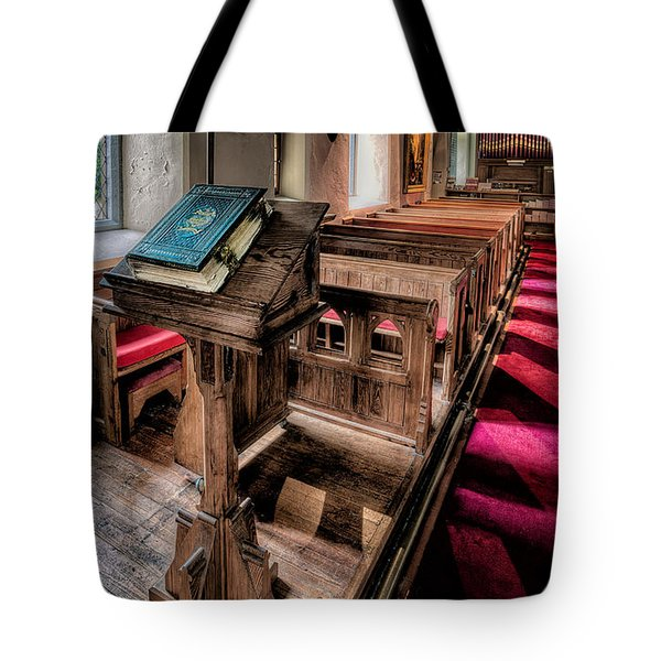 The Welsh Bible Tote Bag by Adrian Evans