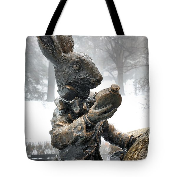 The White Rabbit  Tote Bag by JC Findley