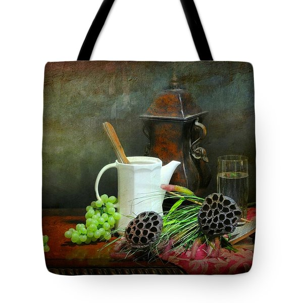 The White Spout Tote Bag by Diana Angstadt