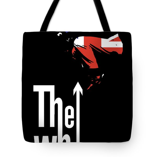 The Who No.01 Tote Bag by Caio Caldas