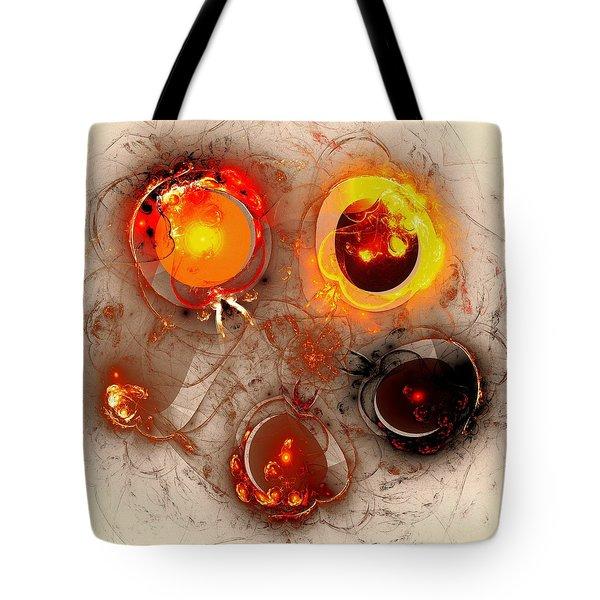 The Whole Cycle Tote Bag by Anastasiya Malakhova