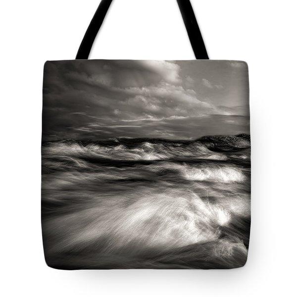 The Wind And The Sea Tote Bag by Bob Orsillo