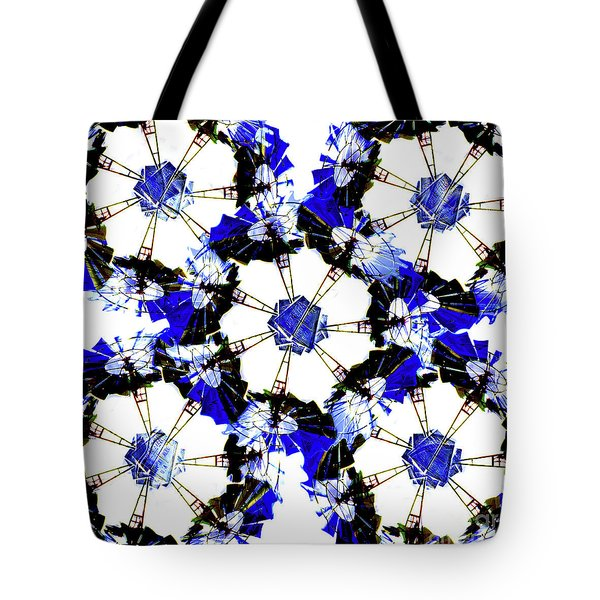The Windmills Of My Mind Bouquet Tote Bag by Andee Design