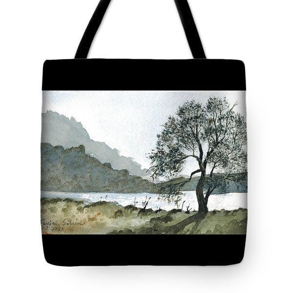 The Wishing Tree Tote Bag by Janice Sobien