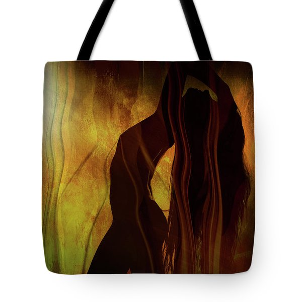 The Witches Dance... Tote Bag by Nina Stavlund