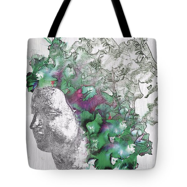 The Woman From Yes Tote Bag by Nola Lee Kelsey
