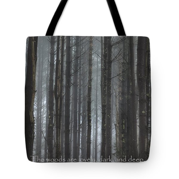 The Woods Tote Bag by Bill  Wakeley