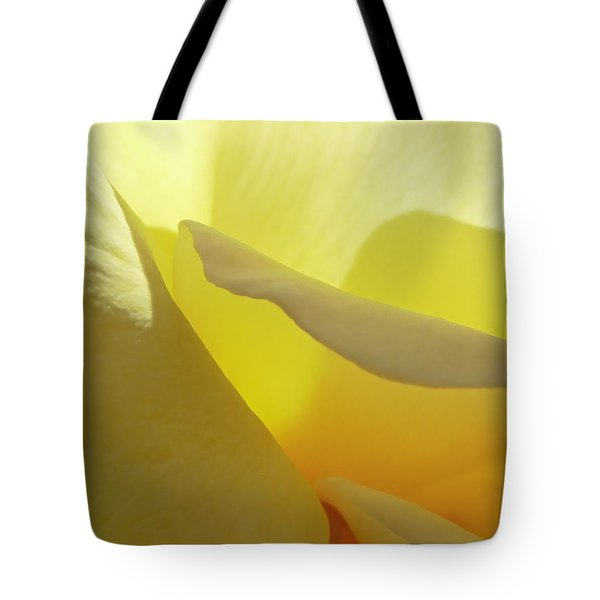 The Yellow Petal Mountains  Tote Bag by Steve Taylor