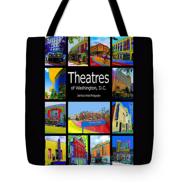 Theatres Of Washington Dc Tote Bag by Jost Houk