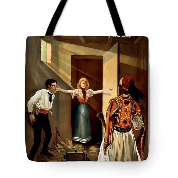 Then You Die Together Tote Bag by Terry Reynoldson