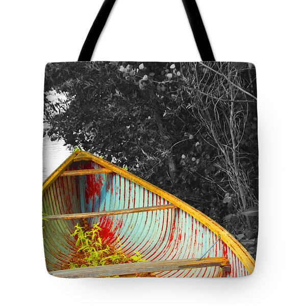 There Was A Day Tote Bag by John Stuart Webbstock