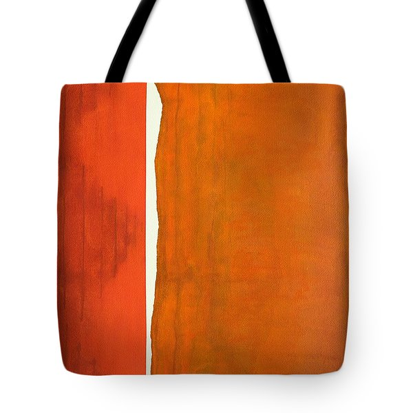 There's A Crack In Everything Original Painting Sold Tote Bag by Sol Luckman