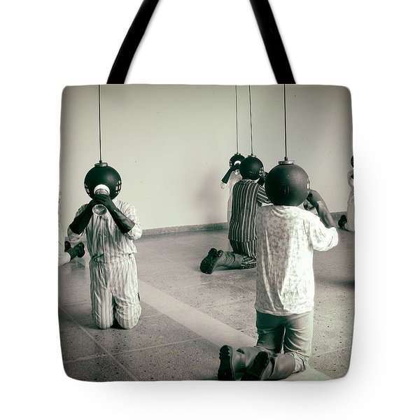 They are here  Tote Bag by A Rey