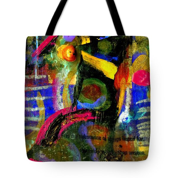 Things To Come Tote Bag by Angela L Walker