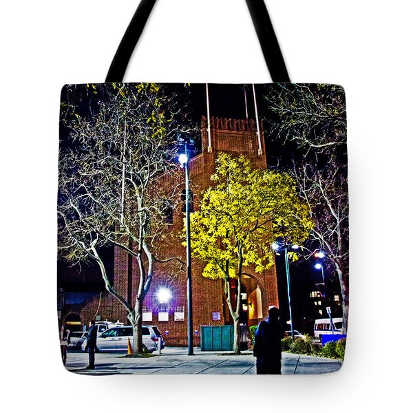 Thinking About Past Glory Tote Bag by Tom Gari Gallery-Three-Photography