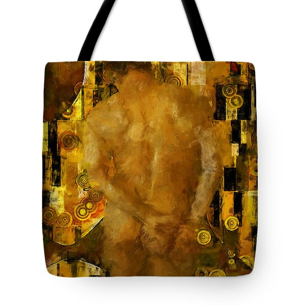 Thinking About You Tote Bag by Kurt Van Wagner
