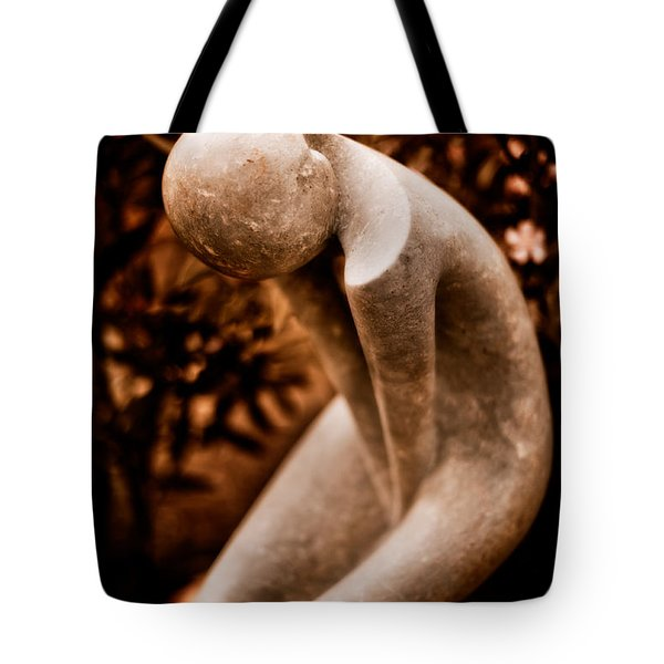 Thinking About You Tote Bag by Venetta Archer