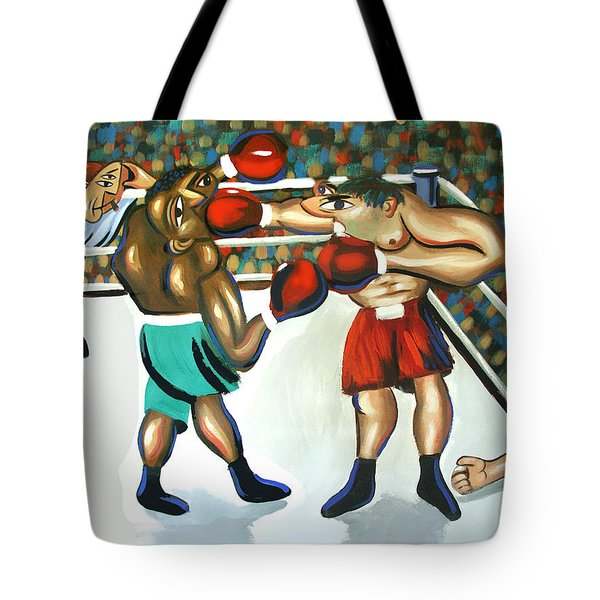Third Round Tote Bag by Anthony Falbo