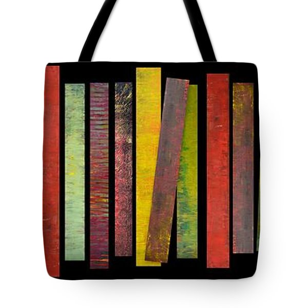 Thirty Stripes 1.0 Tote Bag by Michelle Calkins